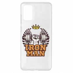 Чохол для Samsung S20+ Iron man and sports