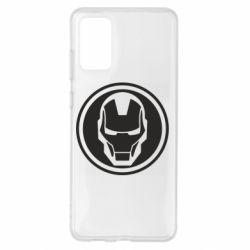 Чохол для Samsung S20+ Iron man symbol