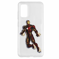 Чохол для Samsung S20 Iron man with the shadow of the lines