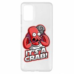 Чохол для Samsung S20+ It's a crab!