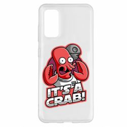Чохол для Samsung S20 It's a crab!
