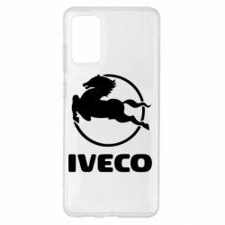 Чехол для Samsung S20+ IVECO