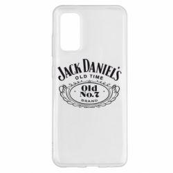 Чехол для Samsung S20 Jack Daniel's Old Time