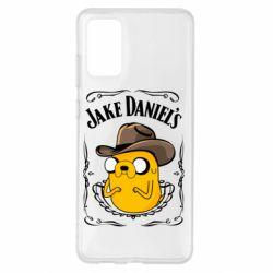 Чохол для Samsung S20+ Jack Daniels Adventure Time