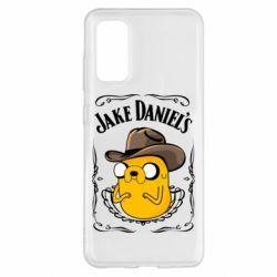 Чохол для Samsung S20 Jack Daniels Adventure Time