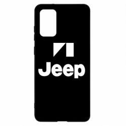 Чехол для Samsung S20+ Jeep Logo