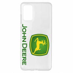 Чохол для Samsung S20+ John Deere logo