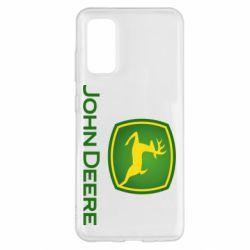 Чохол для Samsung S20 John Deere logo