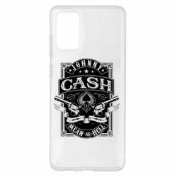 Чохол для Samsung S20+ Johnny cash mean as hell