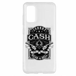 Чохол для Samsung S20 Johnny cash mean as hell