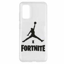 Чехол для Samsung S20 JORDAN FORTNITE