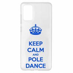 Чохол для Samsung S20+ KEEP CALM and pole dance