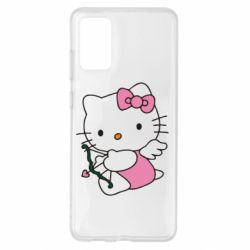 Чехол для Samsung S20+ Kitty амурчик