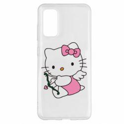 Чехол для Samsung S20 Kitty амурчик