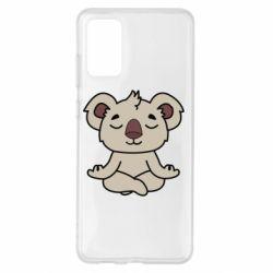 Чехол для Samsung S20+ Koala