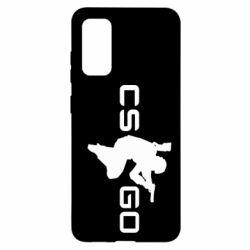 Чохол для Samsung S20 Контр Страйк, логотип і гравець