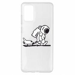 Чохол для Samsung S20+ Космонавт
