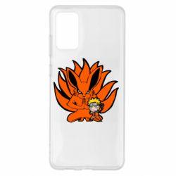 Чохол для Samsung S20+ Kurama And Naruto