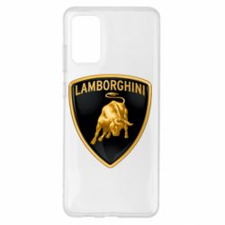 Чохол для Samsung S20+ Lamborghini Logo