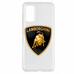 Чохол для Samsung S20 Lamborghini Logo