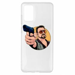 Чохол для Samsung S20+ Лебовськи з пістолетом
