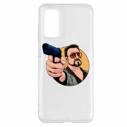 Чохол для Samsung S20 Лебовськи з пістолетом