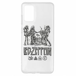 Чехол для Samsung S20+ Led-Zeppelin Art
