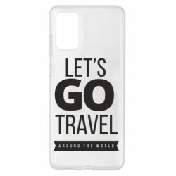 Чохол для Samsung S20+ Let's go travel around the world