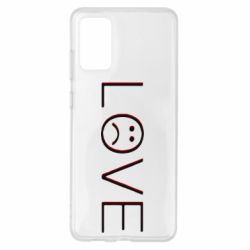 Чохол для Samsung S20+ lil peep: love