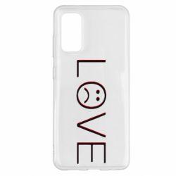 Чохол для Samsung S20 lil peep: love