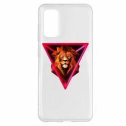 Чохол для Samsung S20 Lion art