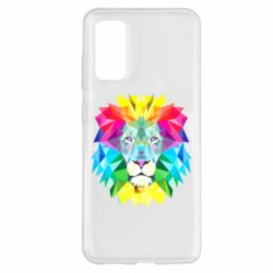 Чохол для Samsung S20 Lion vector
