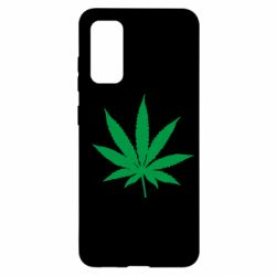 Чохол для Samsung S20 Листочок марихуани