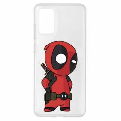 Чохол для Samsung S20+ Little Deadpool