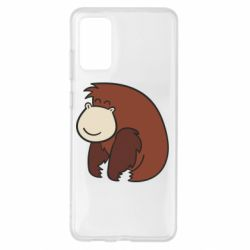 Чехол для Samsung S20+ Little monkey