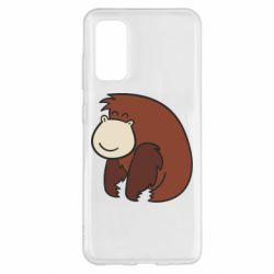 Чехол для Samsung S20 Little monkey