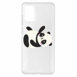Чехол для Samsung S20+ Little panda