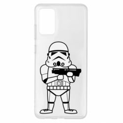 Чохол для Samsung S20+ Little Stormtrooper