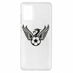 Чохол для Samsung S20+ Liverpool and soccer ball
