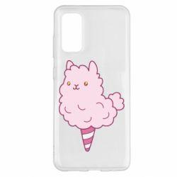 Чехол для Samsung S20 Llama Ice Cream