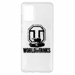 Чохол для Samsung S20+ Логотип World Of Tanks