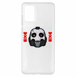 Чехол для Samsung S20+ Love death and robots