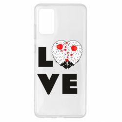 Чохол для Samsung S20+ LOVE hedgehogs