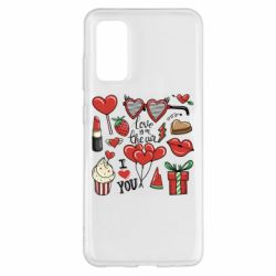 Чохол для Samsung S20 Love is in the air