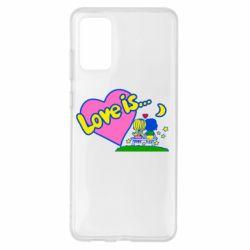 Чохол для Samsung S20+ Love is...