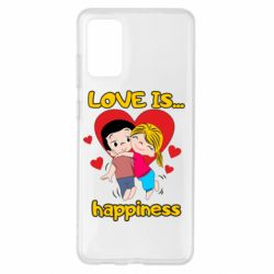 Чохол для Samsung S20+ love is...happyness