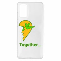 Чохол для Samsung S20+ Love is...Together