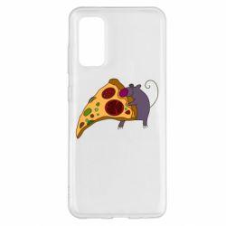 Чехол для Samsung S20 Love Pizza 2