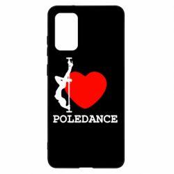 Чохол для Samsung S20+ Love Pole Dance