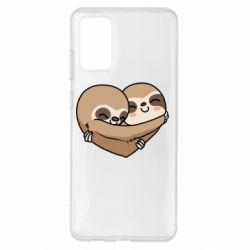 Чохол для Samsung S20+ Love sloths